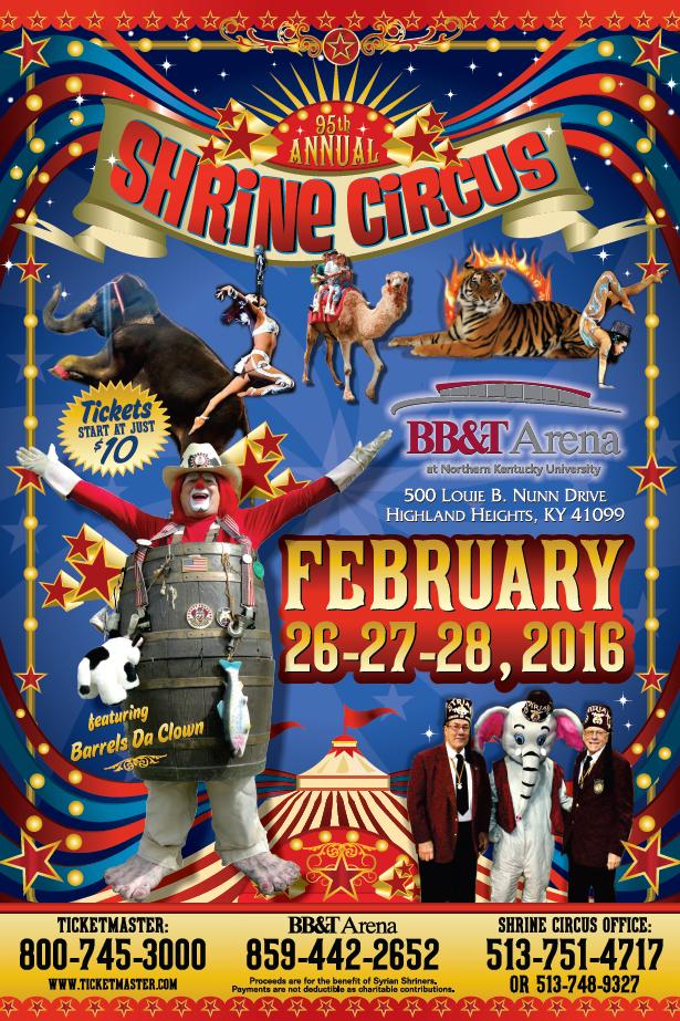 95th Annual Syrian Shrine Circus