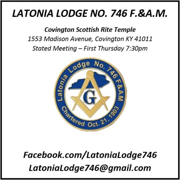 Latonia Lodge 746 Circus 4x4 Banner